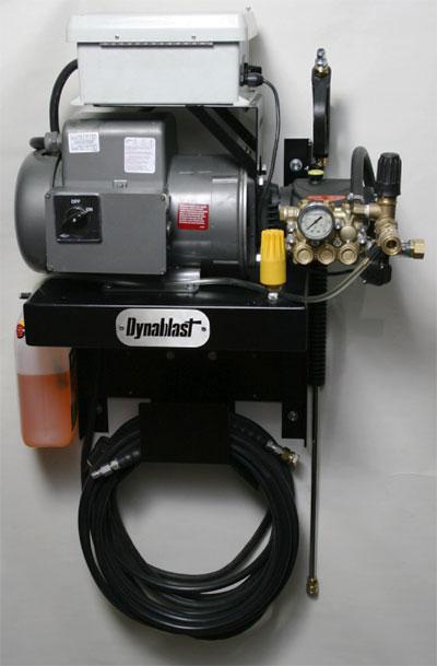 Power Pressure Systems Inc Wall Mounted Dynablast